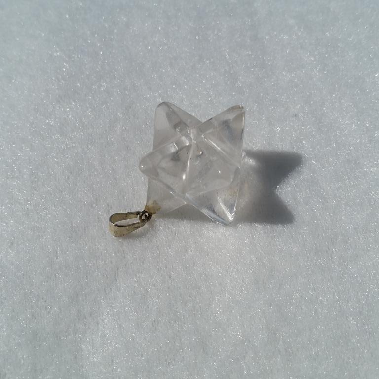 merkaba hänge bergkristall