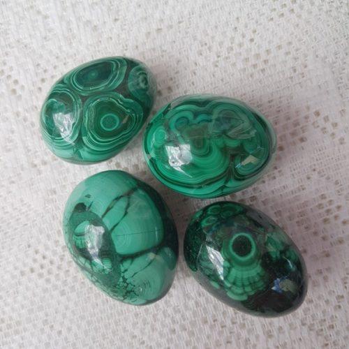 ägg i malakit