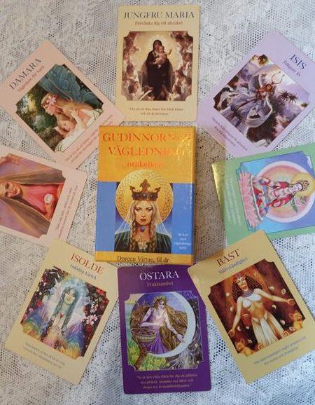 gudinnornas vägledning orakelkort_doreen virtue_änglakort