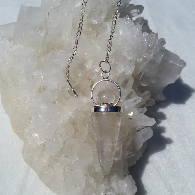 pendel bergskristall, gudinnependel