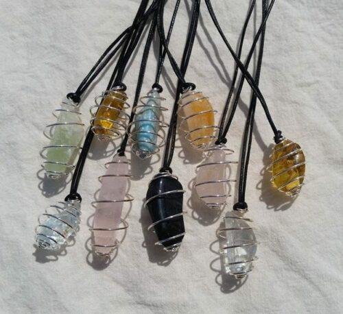 spiralhalsband kristaller liten halsband