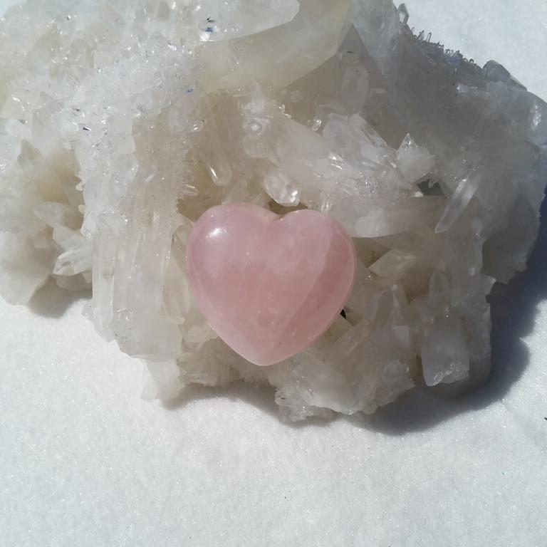 hjärta i rosenkvarts, rosenkvartshjärta