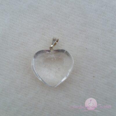 hjärta hänge bergkristall