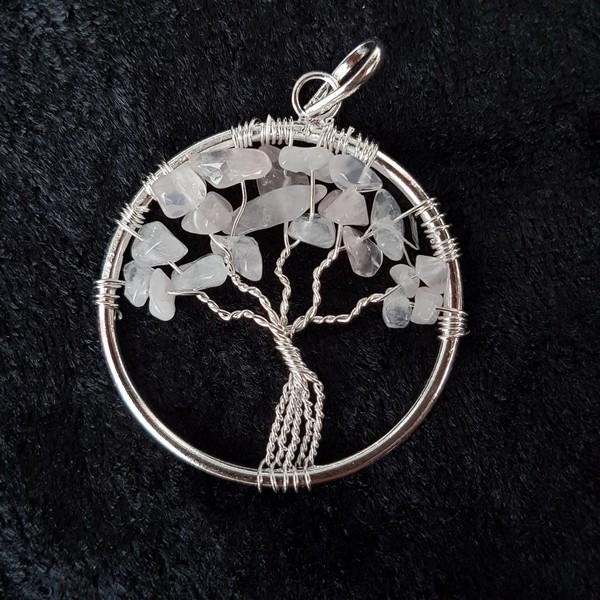 livets träd rosenkvarts