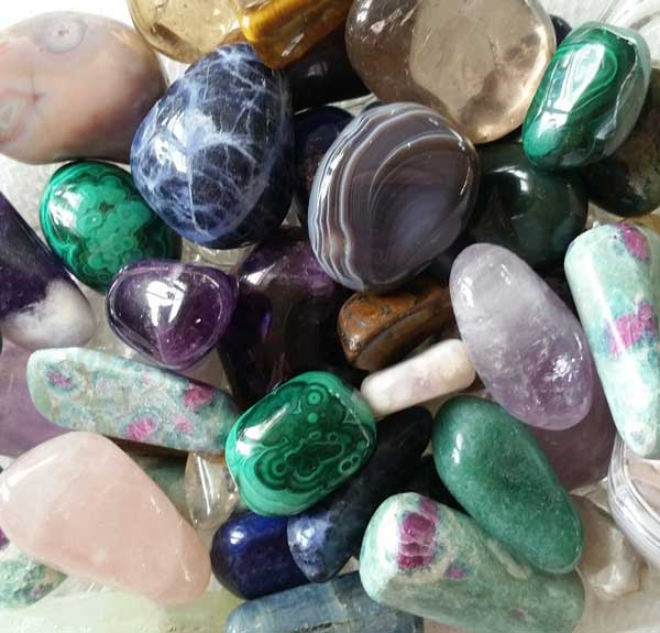 Tala med djur, Healing Crystals