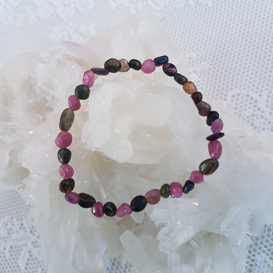turmalin kristaller armband