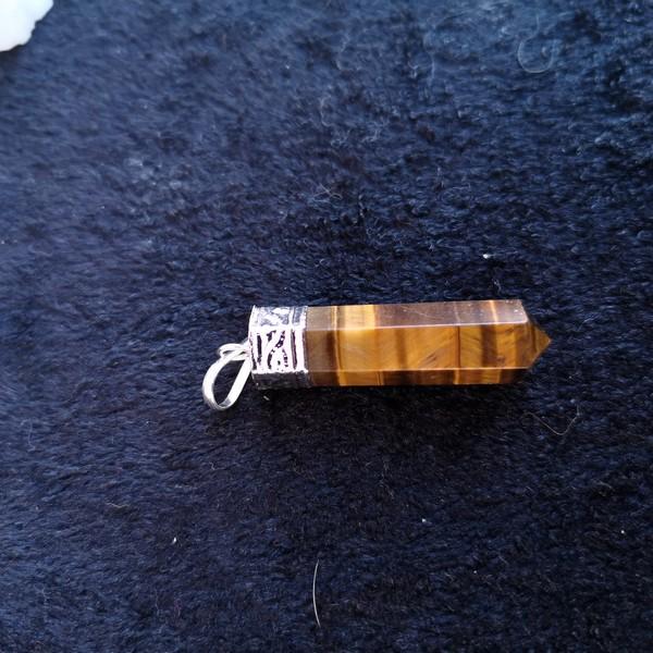 tigeröga halsband