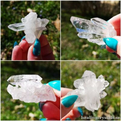 kluster bergkristall