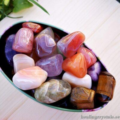 Trumlade stenar & kristaller