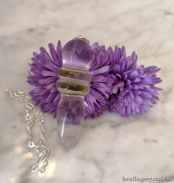 egyptisk pendel bergkristall