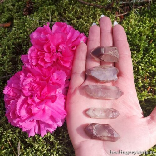 litium kvarts kristaller