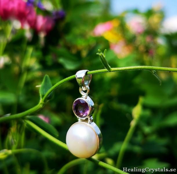 hänge med pärla och ametist_2