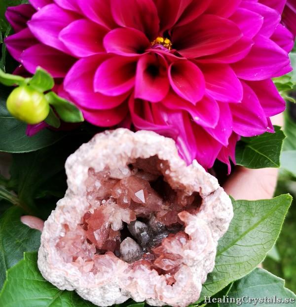rosa ametist pink amethyst