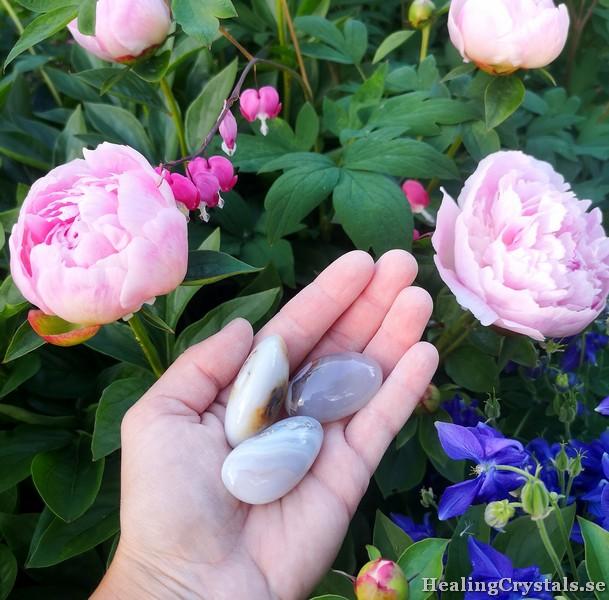 palmstone stressten meditationssten agat