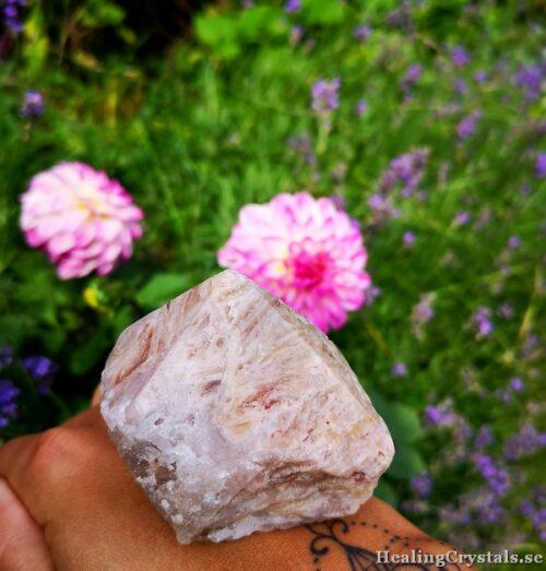 rosa ametist torn spets