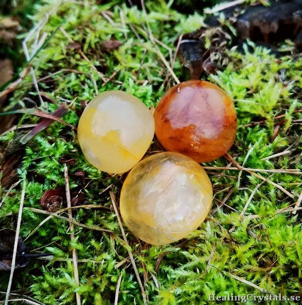 golden healer cuddle stone